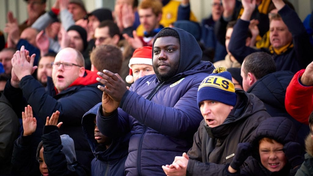 Slough Town fans at Arbour Park. Photo: Philip J.A Benton/philipbenton.com