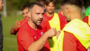 Binfield co-manager Jamie McClurg.