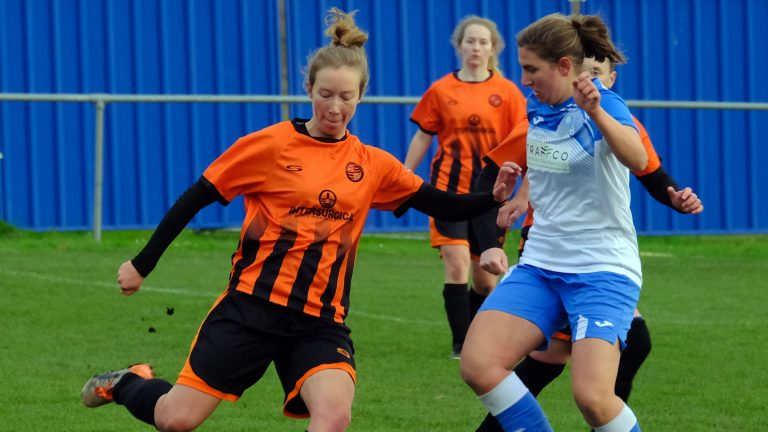 Eversley & California Ladies vs Wokingham & Emmbrook Ladies. Photo: Andrew Batt