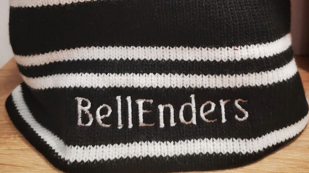 The Maidenhead United Supporters Association beanie.