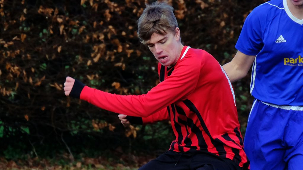 Finchampstead's Callum Vallance. Photo: Andrew Batt.