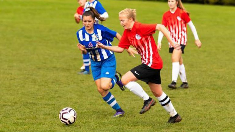 Caversham AFC Ladies Emma Hopkins. Photo: Paul Pavlov.