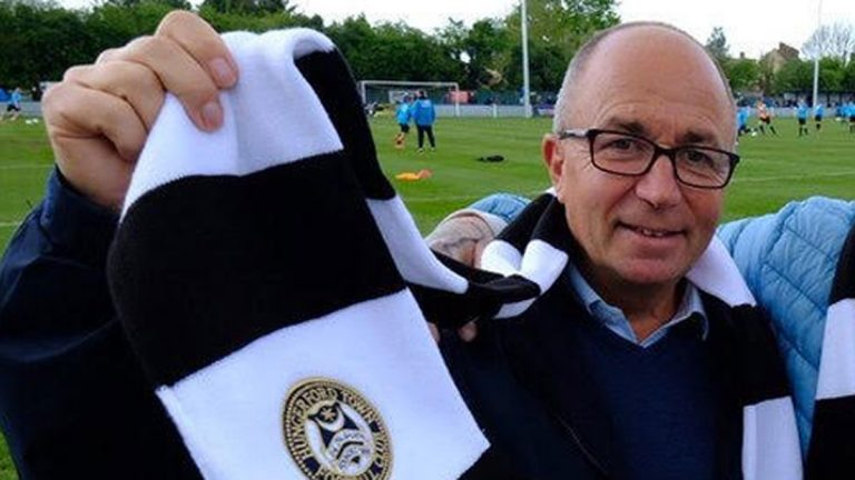 Hungerford Town chairman Pat Chambers.