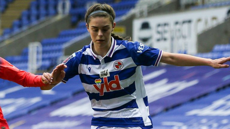 Reading FC Women's Emma Harries.