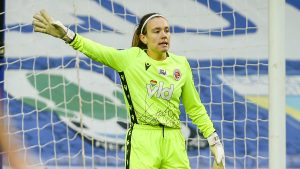 Reading FC Women goalkeeper Grace Moloney. Photo: Neil Graham / ngsportsphotography.com