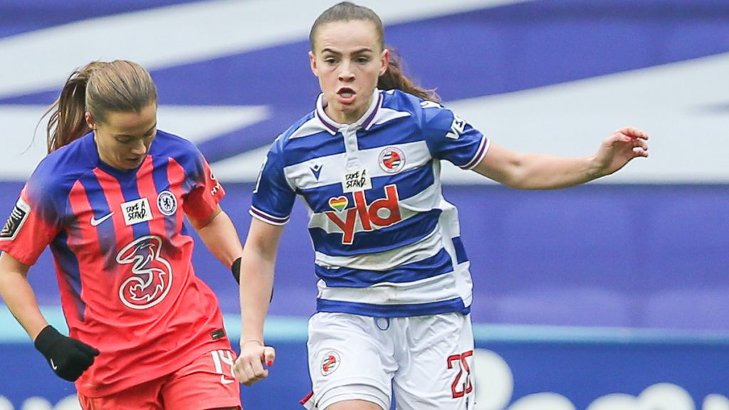 Reading FC Women's Lily Woodham.
