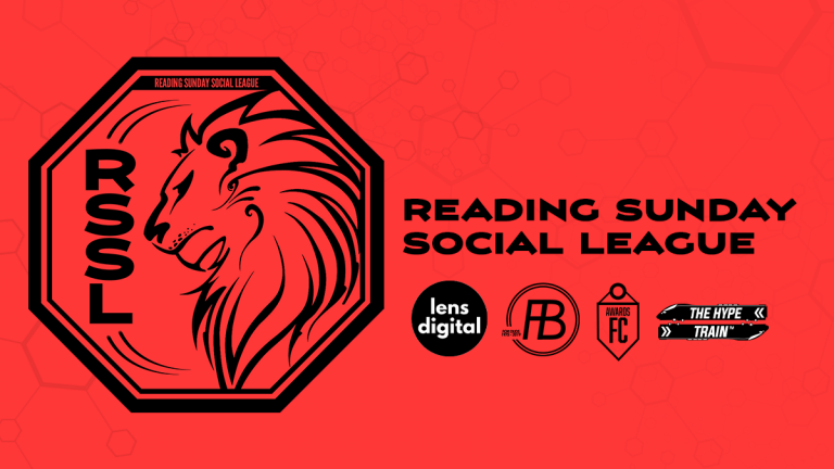 The Reading Sunday Social League header.
