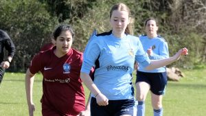 Wargrave Women vs S4K Ladies. Photo: Andrew Batt.