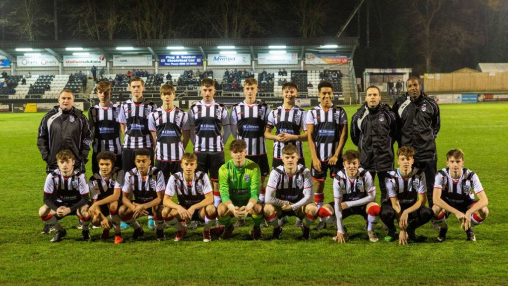 The Maidenhead United Allied Counties side led by Christian Parker. Photo supplied by MUFC.
