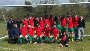 Chalfont St Peter under 23s. Photo supplied by EBFL.