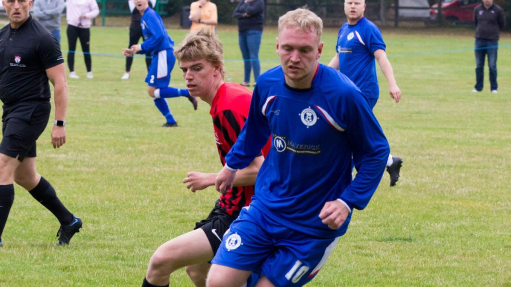 Burghfield's Jack Bowyer. Photo by Steve Williams.